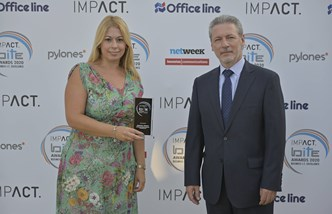 Maria Palli Impact Business IT Excellence Awards 2020